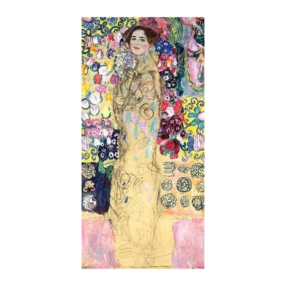 cuadros de retrato - Cuadro -Retrato de Maria Munk, (1917-18)-