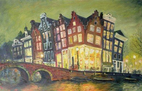 quadros-modernos - Quadro - Bright Lights, Amsterdam, 2000 - - Myatt, Antonia