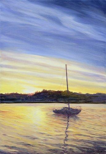 quadros-de-paisagens-marinhas - Quadro - Boat at Rest, 2002 - - Myatt, Antonia
