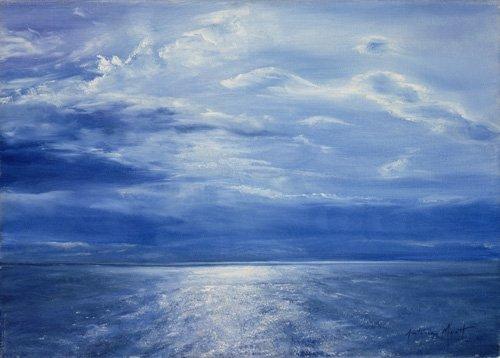 quadros-de-paisagens-marinhas - Quadro - Deep Blue Sea, 2001 - - Myatt, Antonia