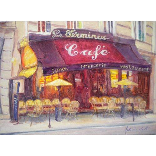 Quadro - Cafe le Terminus, 2010 -