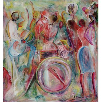 quadros étnicos e orientais - Quadro -New Orleans, 2006 - - Beckford, Ikahl