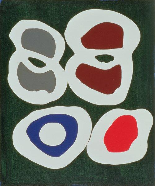 quadros-modernos - Quadro -Cross-Cut, 1998 (acrylic on canvas) - - Booth, Colin