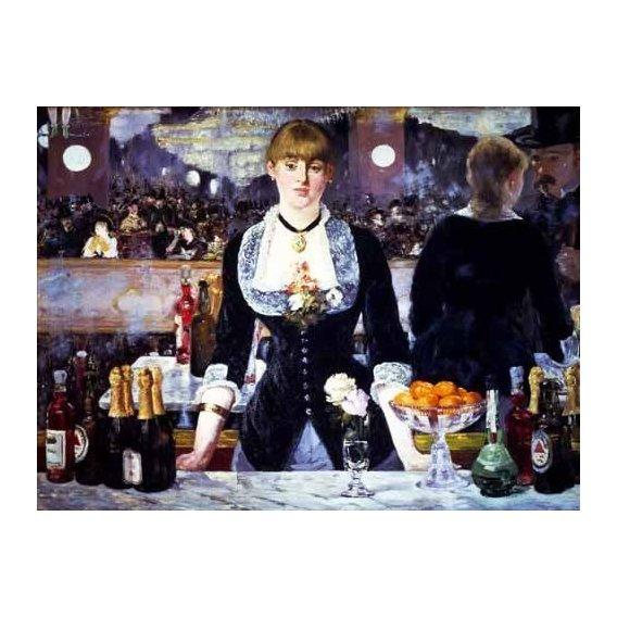 naturezas mortas - Quadro -El bar del Folies Bergeres, 1881-