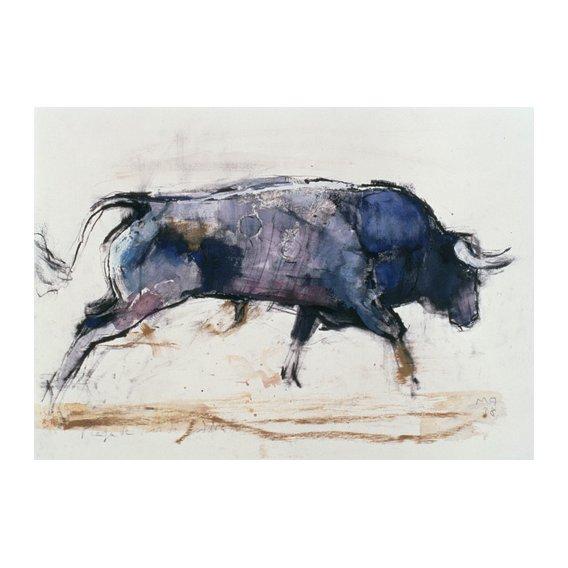 Quadro -Charging Bull, 1998 -