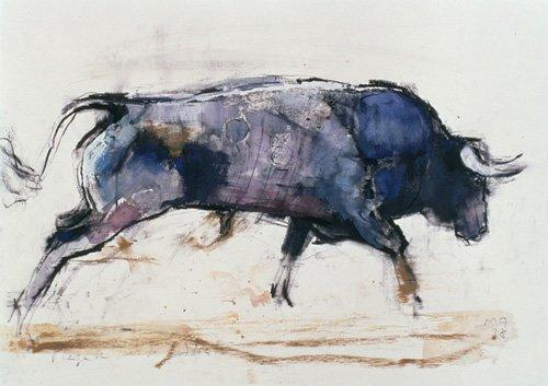 quadros-para-sala - Quadro -Charging Bull, 1998 - - Adlington, Mark