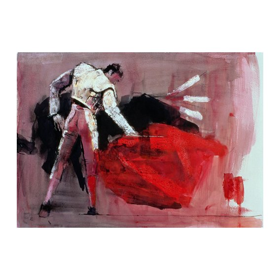 Quadro -Matador, 1998 (mixed media on paper)-