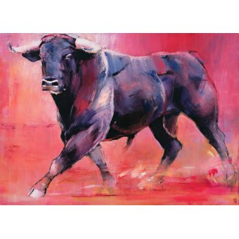 quadros de animais - Quadro -Levantado, 1999 (oil on canvas)- - Adlington, Mark