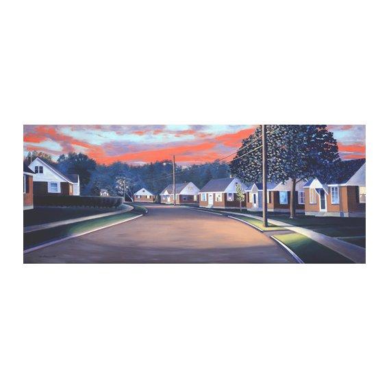 Quadro -Twilight Glow, 1997 (oil on canvas)-