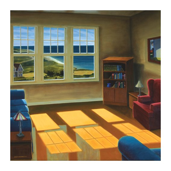 Quadro -Apartment By The Sea, 2006 (oil on canvas)-