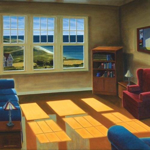 quadros-de-paisagens - Quadro -Apartment By The Sea, 2006 (oil on canvas)- - Arsenault, David