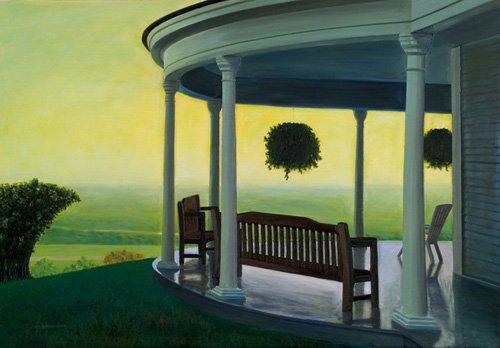 quadros-de-paisagens - Quadro -Joshua on High, 1998 (oil on canvas)- - Arsenault, David