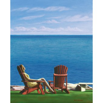 - Quadro -Solitary Refinement, 2014, oil on canvas- - Arsenault, David