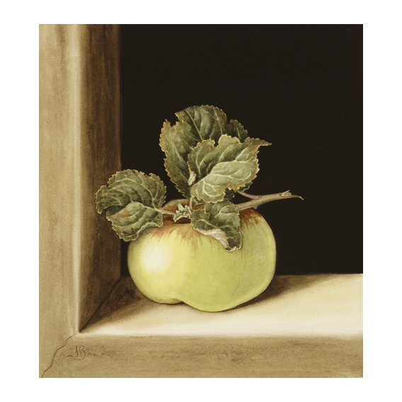 Quadro -Apple (w.c on paper) -
