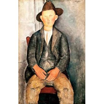 - Quadro -El pequeño campesino- - Modigliani, Amedeo