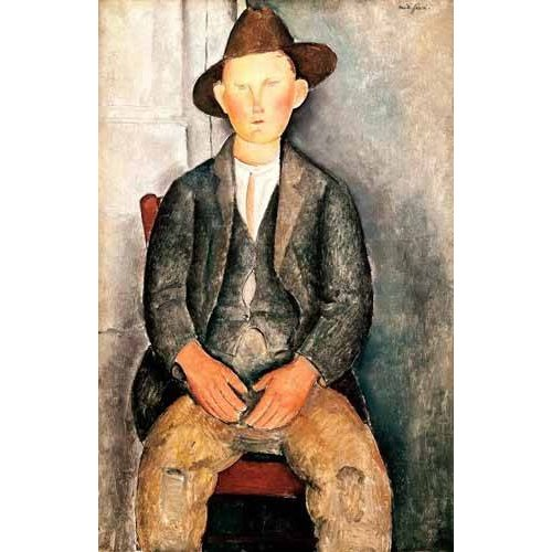cuadros de retrato - Cuadro -El pequeño campesino-