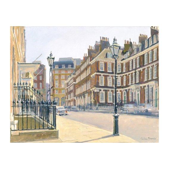 Quadro -Queen Anne's Gate (oil on canvas)-
