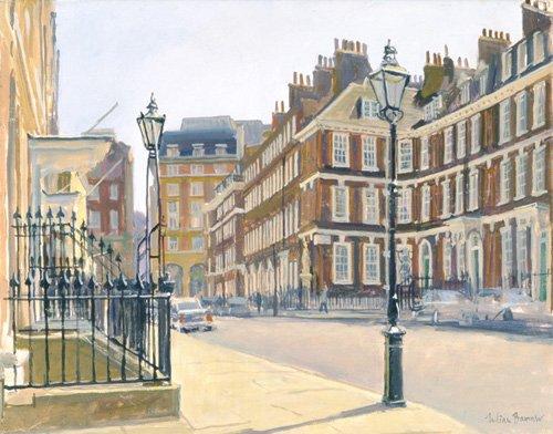 quadros-modernos - Quadro -Queen Anne's Gate (oil on canvas)- - Barrow, Julian