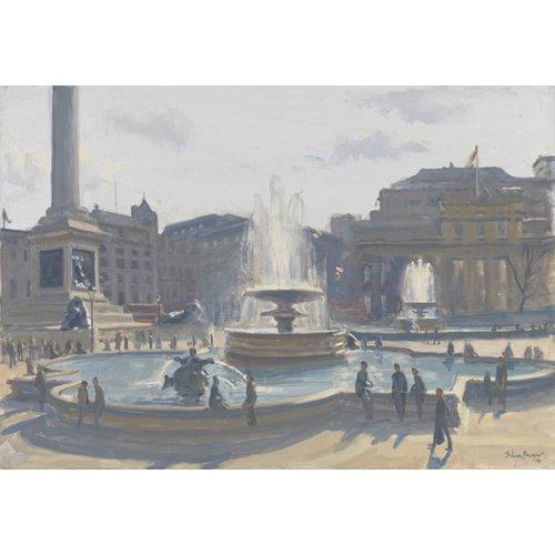 Quadro -Trafalgar Square, 2010 (oil on canvas)-