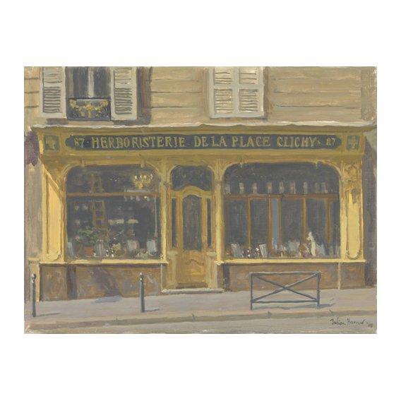 Quadro -Herboristerie de la Place Clichy, 2010 (oil on canvas)-
