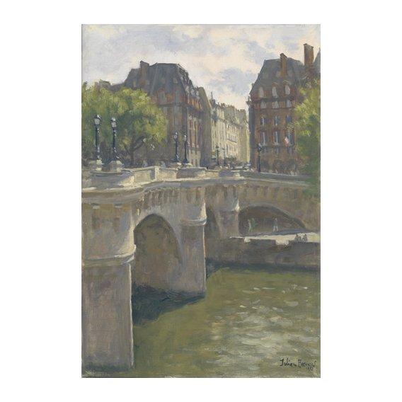 Quadro -Pont Neuf, 2010 (oil on canvas)-