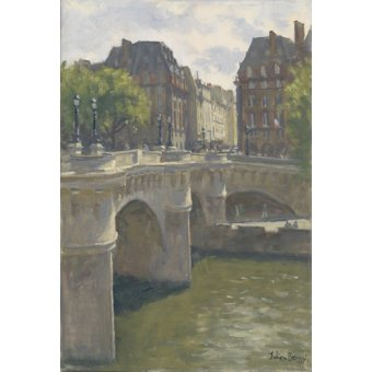 quadros de paisagens - Quadro -Pont Neuf, 2010 (oil on canvas)- - Barrow, Julian