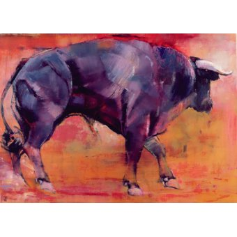 quadros de animais - Quadro -Parado, 1999 (oil on canvas)- - Adlington, Mark
