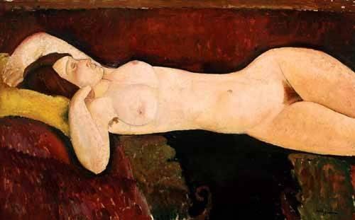 Cuadro Desnudo Femenino Acostado Cuadros De Retrato Online