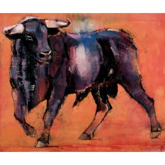 quadros de animais - Quadro -Alcurrucen, 1999 (oil on canvas)- - Adlington, Mark