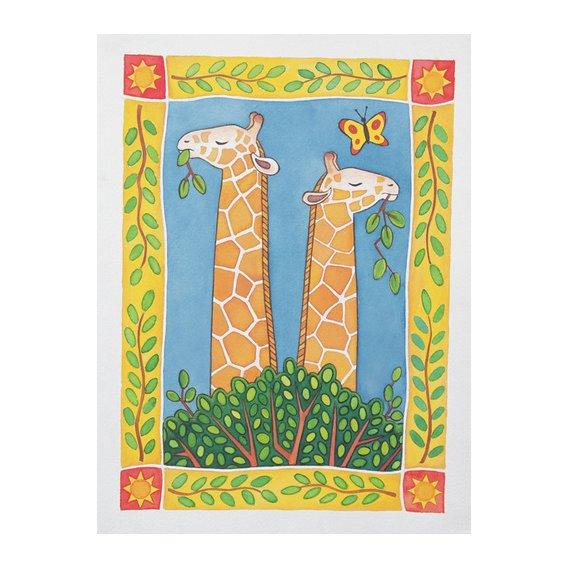 Quadro --Giraffes-