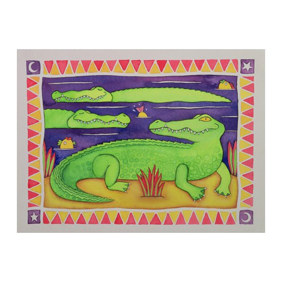 Quadro -Crocodiles-
