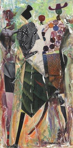 quadros-etnicos-e-orientais - Quadro  -Intrigued- - Beckford, Ikahl