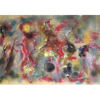 Quadros abstratos - Quadro -Instrumental- - Beckford, Ikahl