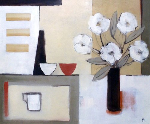 quadros-modernos - Quadro -Saki (oil on canvas)- - Bianchi, Ana