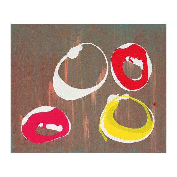 Quadro -Young Flying Fish III, 1997 (acrylic on canvas)-