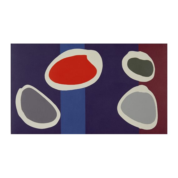 Quadro -Go Discs, 1999 (acrylic on canvas) (pair with 146091)-