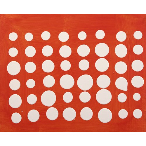 Quadro -Dot Matrix (acrylic on MDF board)-