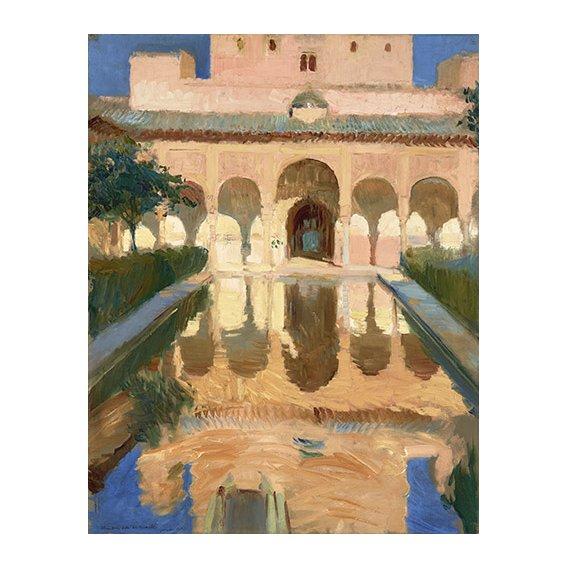 Quadro -Alhambra, Salon de Embajadores, Granada -