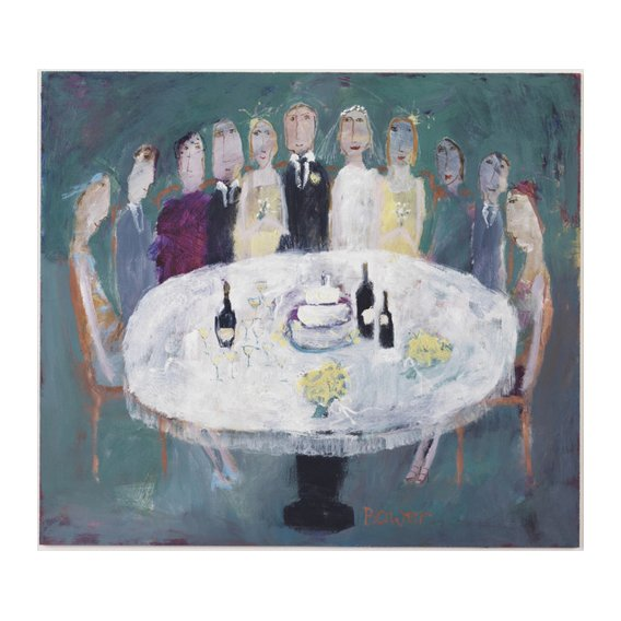 Quadro -Wedding Breakfast, 2007 (oil on board)-