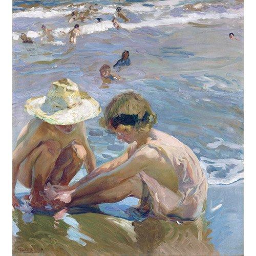 Quadro -El pie herido, 1909 -