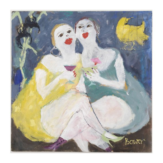 Quadro -Friday Night Girls, 2007 (oil on board)-