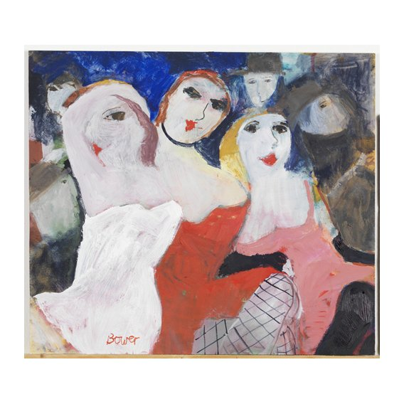 Quadro -Les Belles Dames, 2009 (oil on board)-