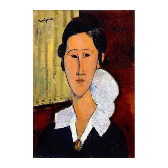 cuadros de retrato - Cuadro -Retrato de Anna Zborowska-