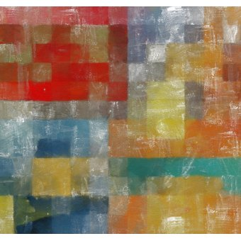 Quadros abstratos - Quadro -as a flag,2017,(mixed media)- - Caminker, Alex
