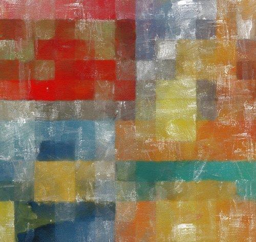 quadros-modernos - Quadro -as a flag,2017,(mixed media)- - Caminker, Alex
