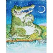 Quadro -Crocodile Lullaby -