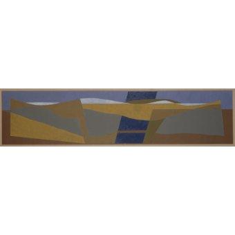 Quadros abstratos - Quadro - Poundbury Landscape, 1997 - - Dannatt, George
