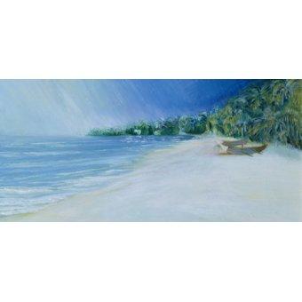 quadros de paisagens marinhas - Quadro - Coco Beach, Goa, India, 1997 - - Elliot, Sophia