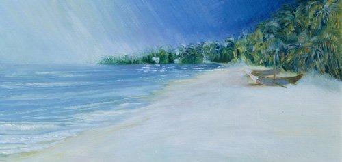 quadros-de-paisagens-marinhas - Quadro - Coco Beach, Goa, India, 1997 - - Elliot, Sophia