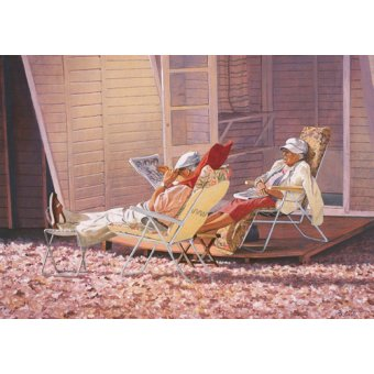 - Quadro -Evening Rest (oil on canvas)- - Cook, Simon
